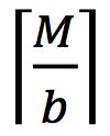 _M/b_