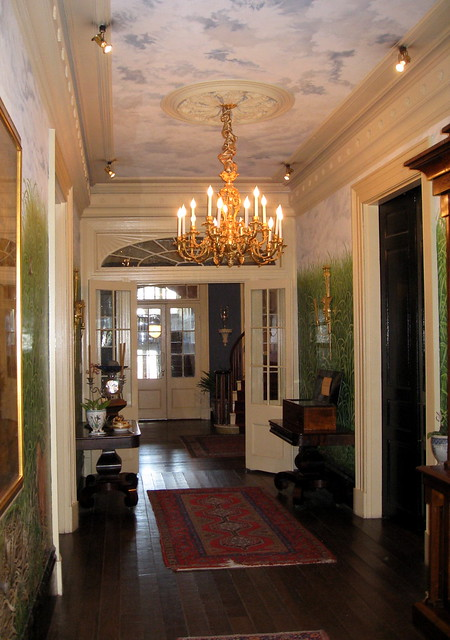 Houmas House Plantation Main House Interior Entrance Hallway