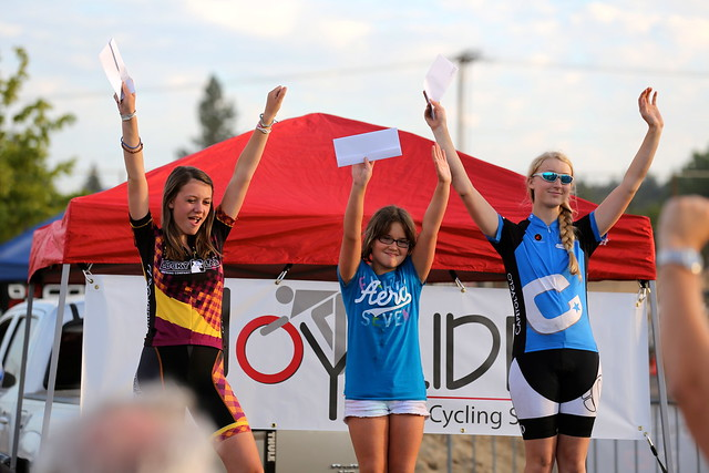 Juniors Series Podium