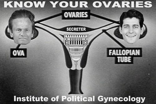 KNOW YOUR OVARIES by Colonel Flick