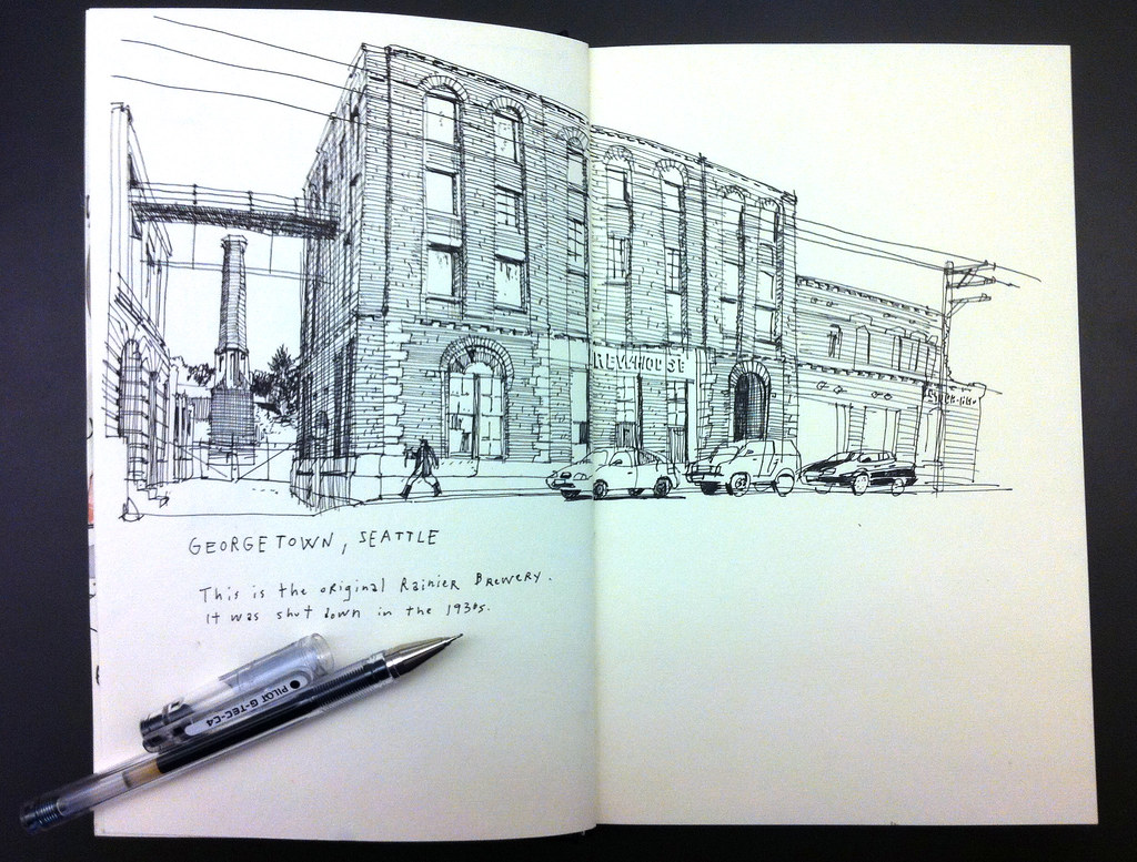 Sketching field notes | The Seattle Sketcher | Seattle Times