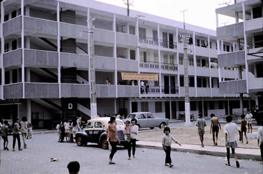 Chung cư cho nạn nhân chiến cuộc Tết Mậu Thân 1968
