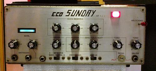 Eco a cinta SUNDAY Mod. ST-177 by Efectos Cluster