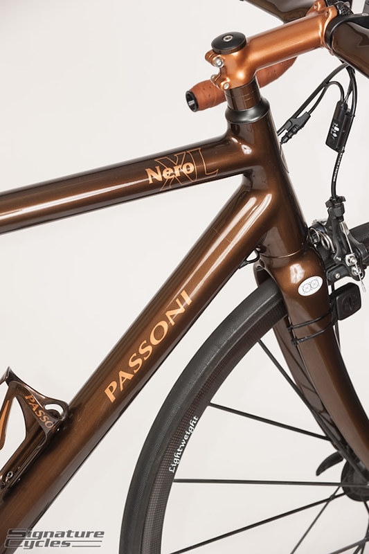 Passoni Nero XL Bicycle from Italy