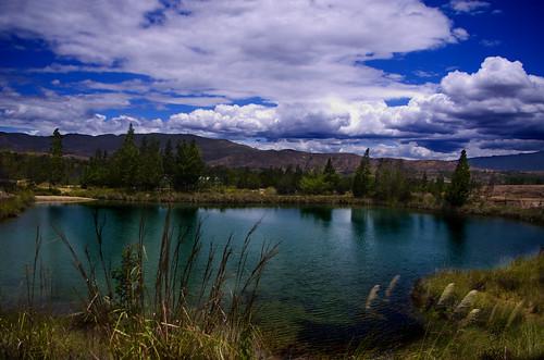 blue water azul landscape agua colombia pentax magic paisaje well pozo villadeleyva boyaca pentaxk5