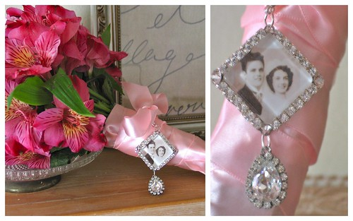 {Glam Bouquet Charm} by Nina Renee Designs by Nina Renee Designs