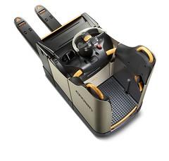 Crown gerbeur à levée initiale des longerons avec plate-forme à accès arrière WT 3000