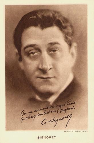 Gabriel Signoret, Campari
