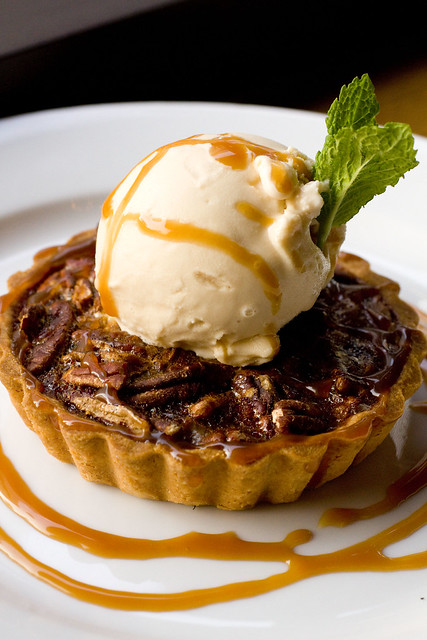Pecan Pie with Caramel Ice Cream 2