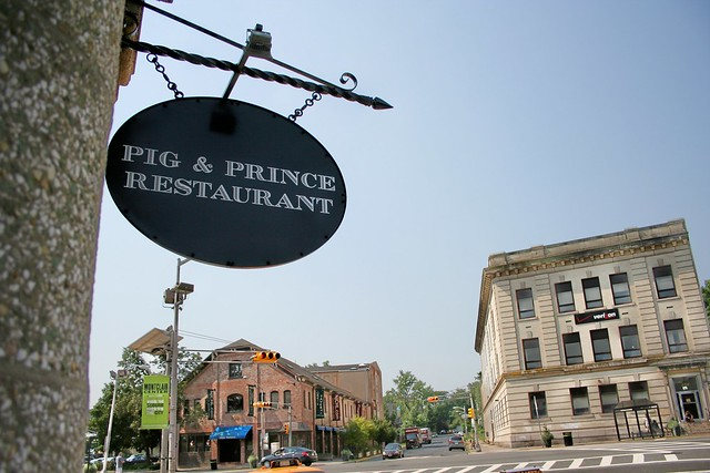 Pig And Prince ~ Anchoring Montclair Center