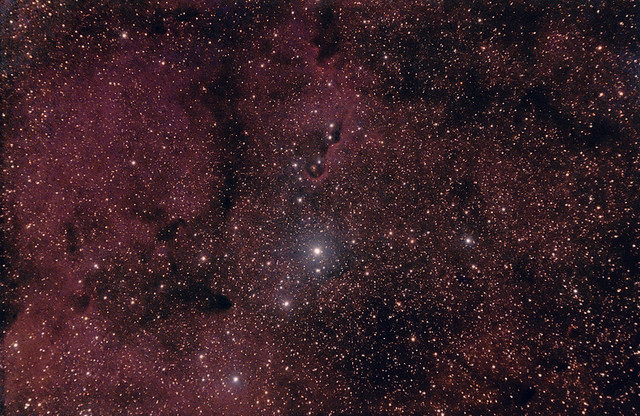 IC 1396 in Cepheus (the top half) 22 August 2012