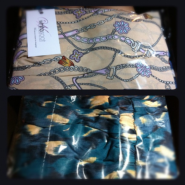 My clothes arrived just in time for Raya. Awesome! @whitesoot #shopping #fashion