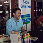 Craig Taylor book signing | Craig Taylor signs copies of his book, Londoners