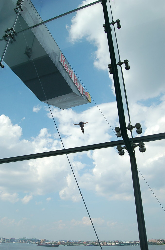 Red Bull Cliff Diving at ICA Boston...