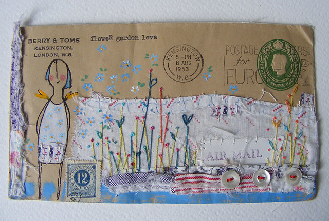 envelope artwork, now off to Australia