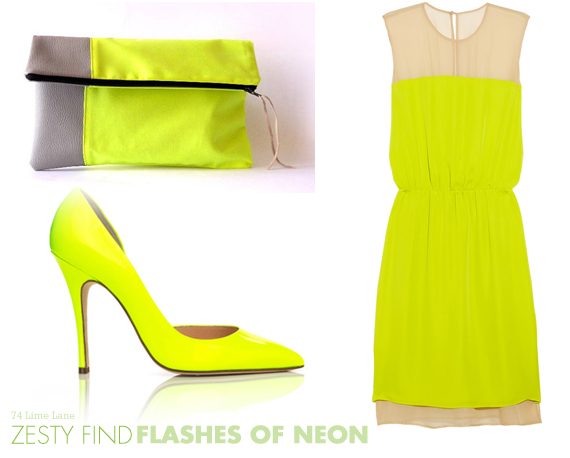 {zesty find} flashes of neon
