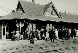 Claremont train station in 1906