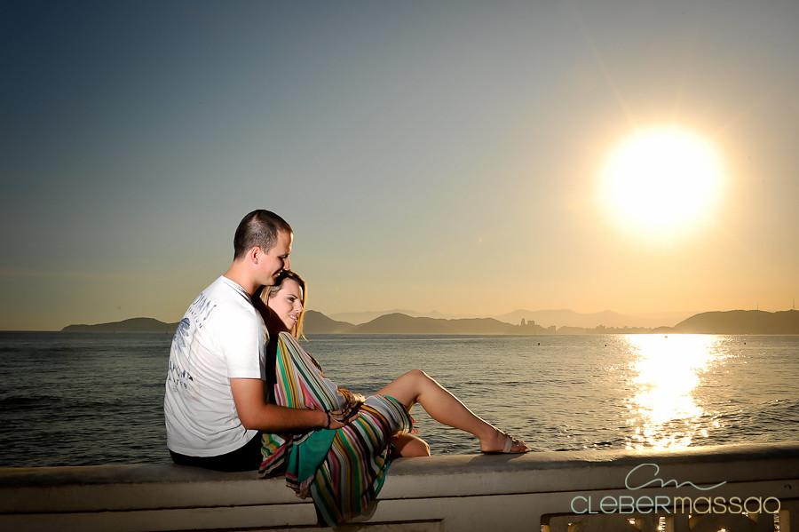 Lais e Diego E-session na praia de Santos-45