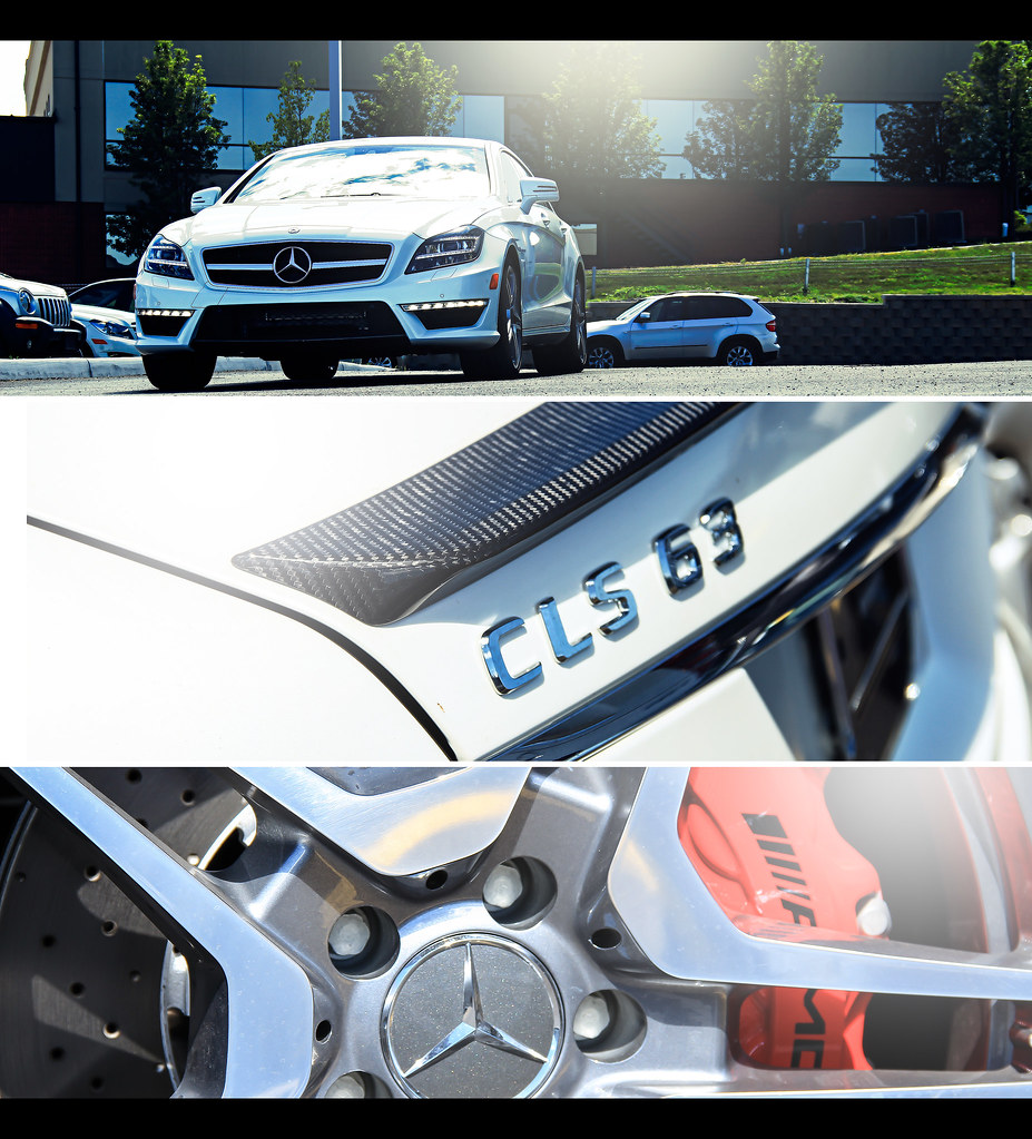 Storm trooper. 2013 Mercedes CLS 63 AMG