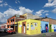 Oaxaca Street Scene - Mexico