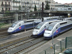bullet train, metropolitan area, tgv, high-speed rail, vehicle, train, transport, mode of transport, rail transport, public transport, rolling stock, track, land vehicle,
