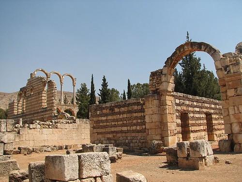 Libanonský Anjar aneb Když Arabové stavěli podle římských vzorů