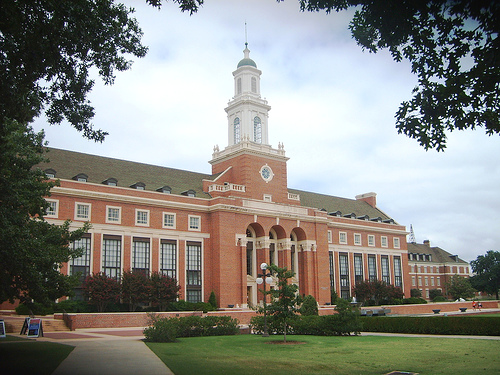 Image of Edmon Low Library at Oklahoma State University