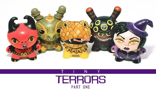 Tiny Terrors : New Dunny Series