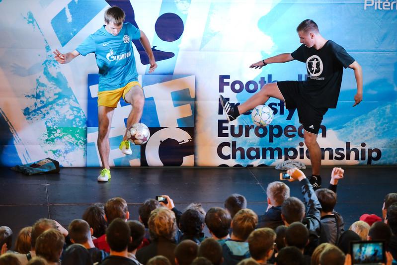 Чемпионат Европы пофутбольному фристайлу 2012