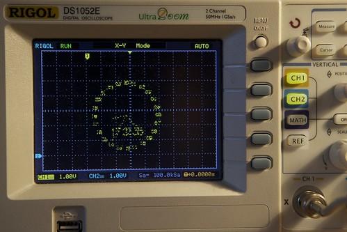 Rigol oscilloscope vector art