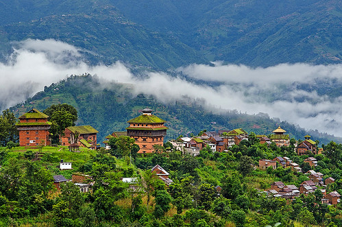 morning nepal mist building heritage architecture clouds landscape palace historic opsphotos bidur sigma105macro centralregion nuwakot