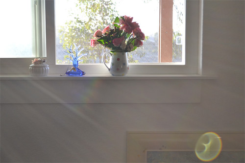Window Sill in Master Bedroom