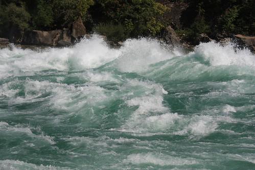 Rapids at Niagara Falls - Ontario - Canada