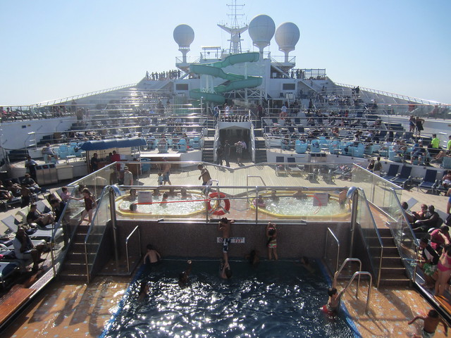 Carnival Cruise Line Carnival Glory Ship Swimming Pool Flickr Photo Sharing