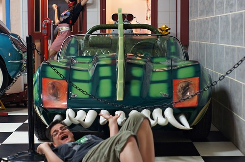 Self-Portrait with Death Race 2000 Car