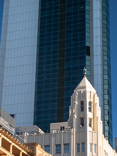 Perth: Bank West Tower from corner of Hay and William Streets