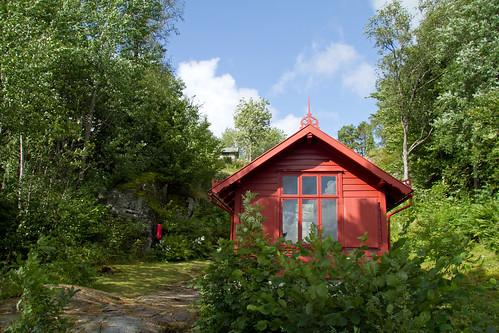 Edvard Grieg's composer's hut