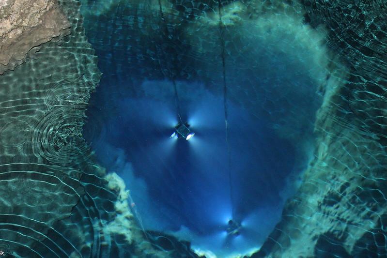 第三地底湖 その3