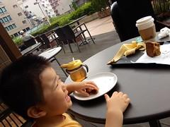 スタバで朝食 - 朝散歩 (2012/9/8)