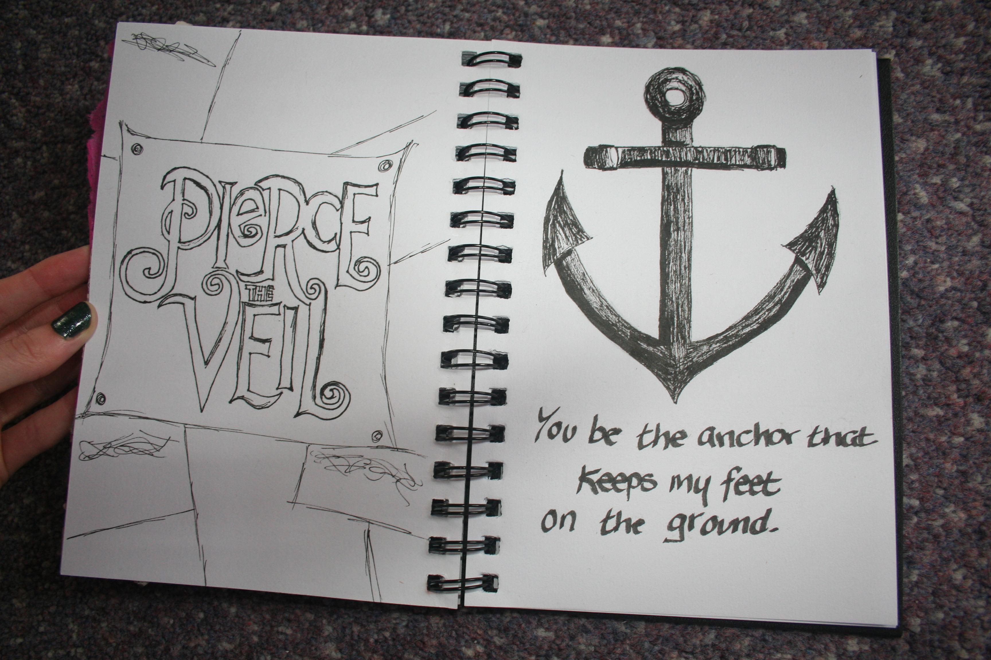 pierce the veil logo drawing