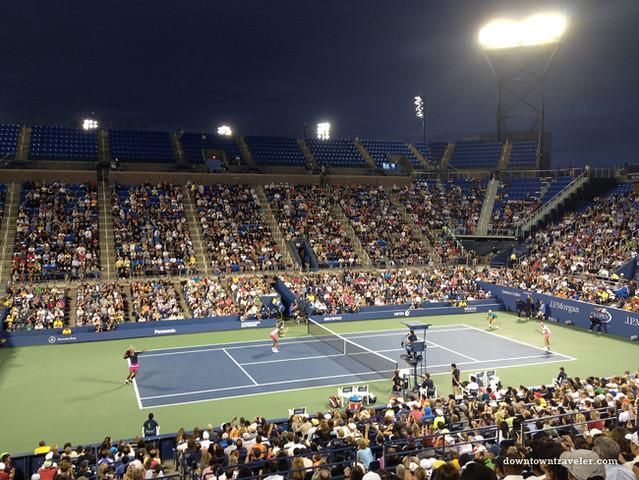 US Open Tennis 2012_Serena and Venus 2