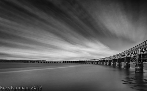 Tay Bridge B&W