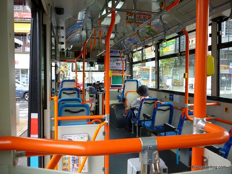 Public bus in Kamakura