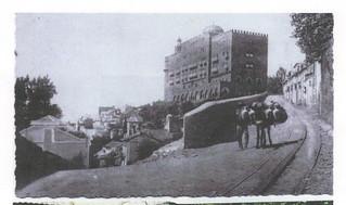 El hotel, en 1912.