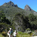 Walking towards Cradle Mountain