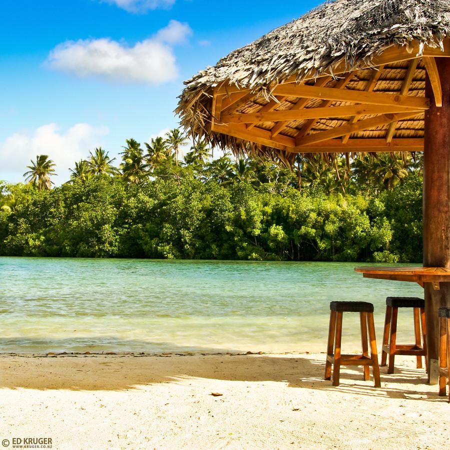 Vanuatu Beaches: Sand And Beach In Port Vila, Vanuatu.