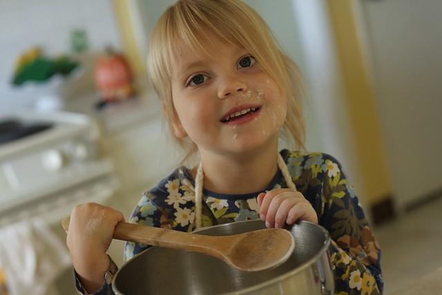 Waldorf homeschooling - first day of kindergarten year one