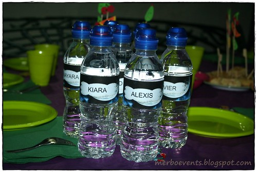 botellas niños merbo events