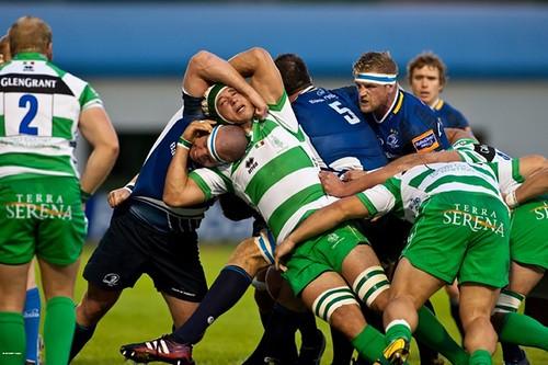 Treviso lotta contro Leinster