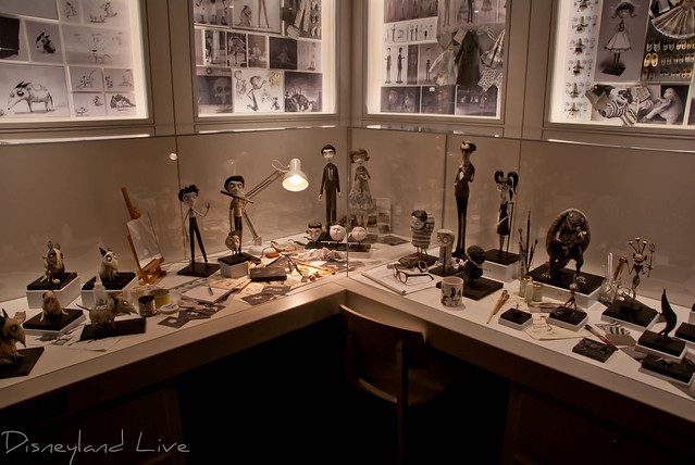 The Art of Frankenweenie Exhibition - Disney California Adventure